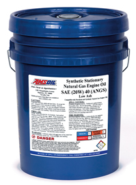 Synthetic Stationary Natural Gas Engine Oil (ANGS)